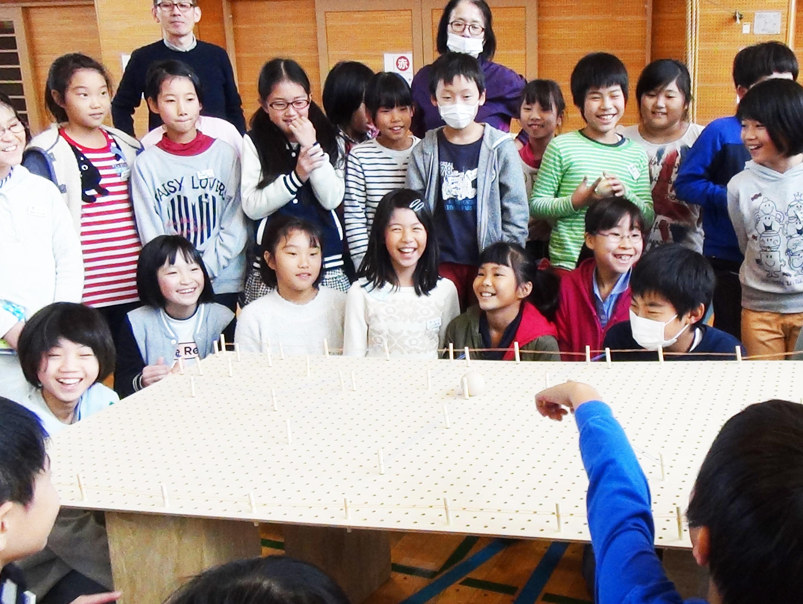 山形市立第一小学校にてワークショップを実施しました